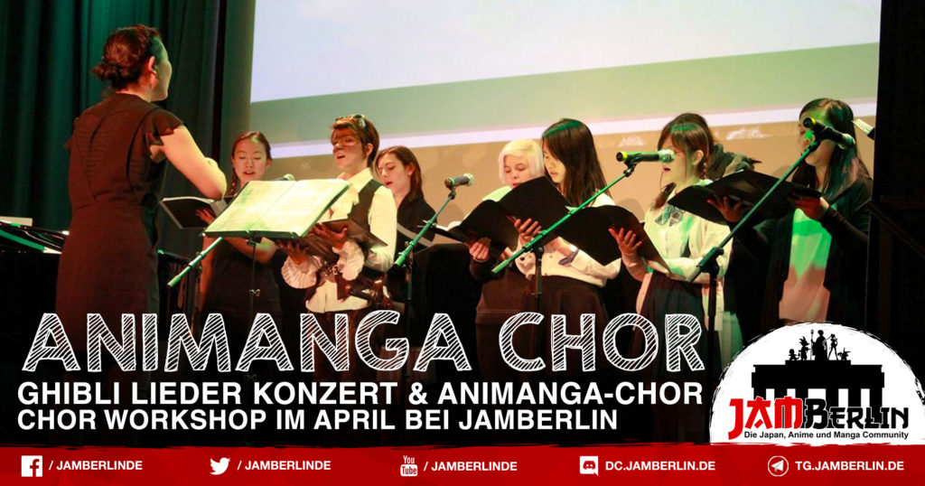 Anime Chor startet im Juni 2018 in Berlin 1