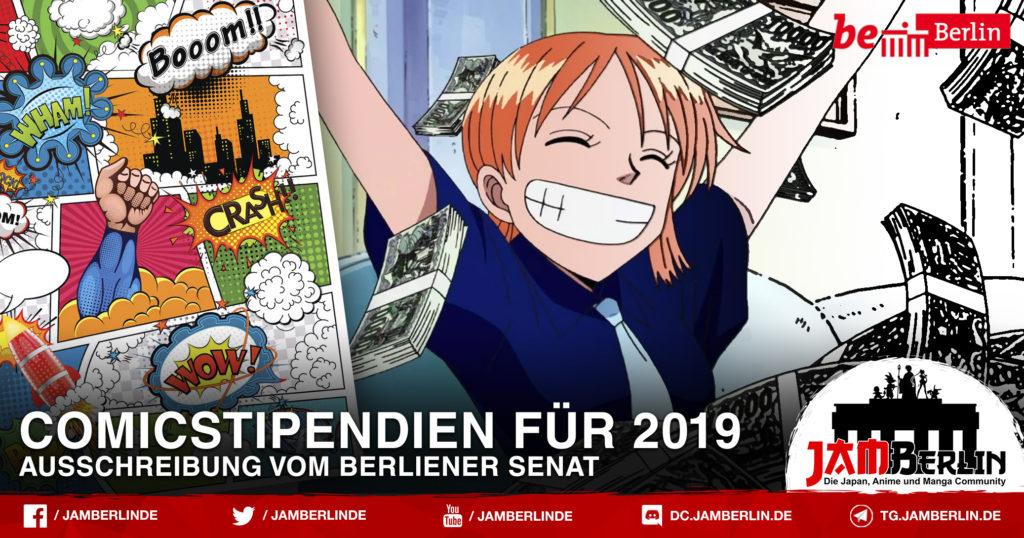 Comicstipendien für 2019 von Berliener Senat 4